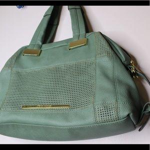 Handbags - Steve Madden Mint Green Leather Purse